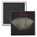Imán Bandoneón Tango Square Magnet