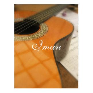 Iman Postcard