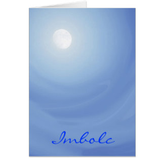 Imbolc Peace Moonscape Card