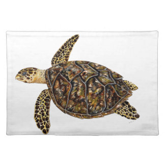 Imbricata turtle placemat