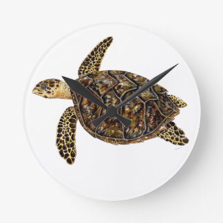 Imbricata turtle wallclocks