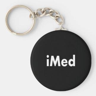 iMed Basic Round Button Key Ring
