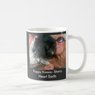 IMG00146-20100717-1604, Puppy Kisses- Starry He... Coffee Mug