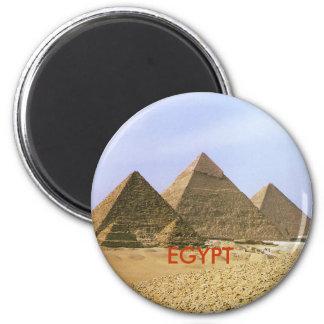 IMG6, EGYPT 6 CM ROUND MAGNET
