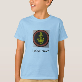 IMG_00002_2, I LOVE NAVY T-Shirt