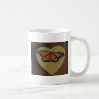 IMG_0085, You Give My Heart, BUTTERFLIES Basic White Mug