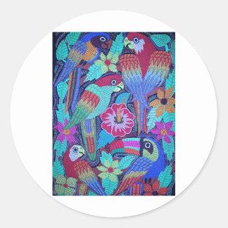 IMG_0188.jpg Birds of Panama Round Stickers