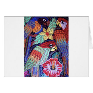 IMG_0194.jpg Birds of Panama Greeting Card