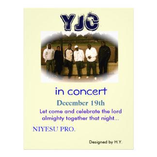 IMG_0582, YJC, in concert, December 19th , Let ... Flyer Design