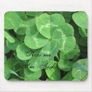 IMG_0604, Kiss me I'm Irish Mouse Mat