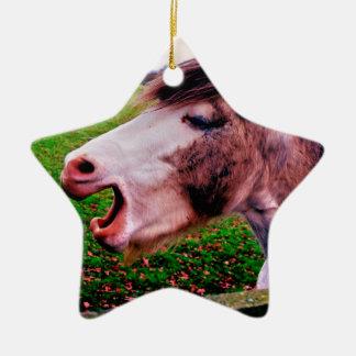 IMG_0897.JPG horse design by Jane Howarth Christmas Ornament