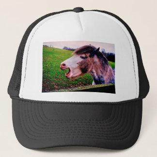 IMG_0897.JPG horse design by Jane Howarth Trucker Hat