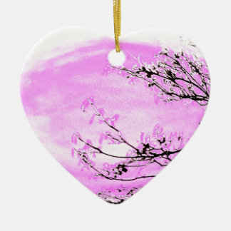 IMG_0916.JPG Pink Forest Christmas Ornament