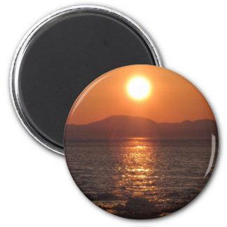 IMG_1069 Alaskan Sunset Kotz Refrigerator Magnets