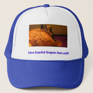 IMG_2043, I love Bearded dragons dont you?? Trucker Hat