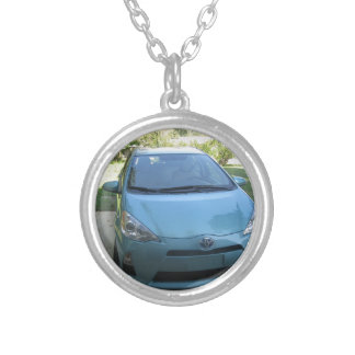 IMG_2140.JPG Prius Toyota car Round Pendant Necklace