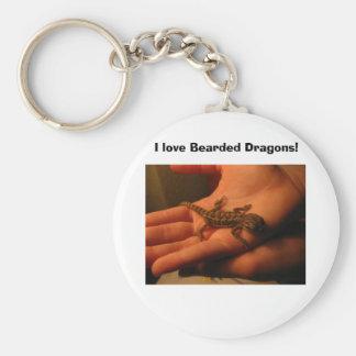 IMG_2150, I love Bearded Dragons! Key Ring