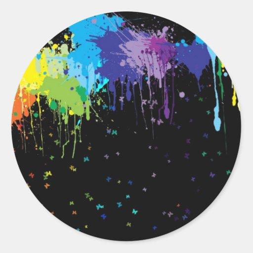 img 250_www.Garcya.us Round Stickers