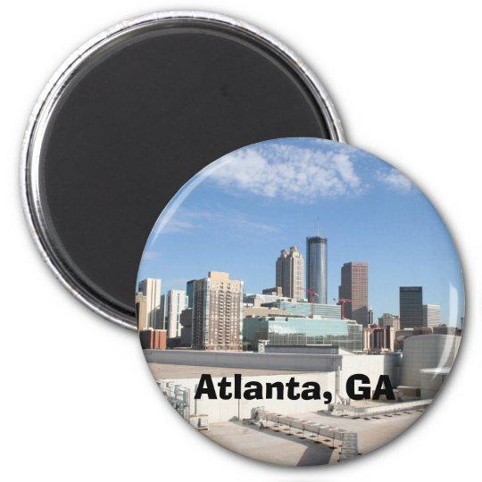 IMG_2688, Atlanta, GA 6 Cm Round Magnet