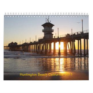 IMG_3053, Huntington Beach California  2011 Wall Calendar