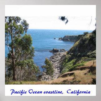 IMG_3376 Pacific Ocean coastline California Poster