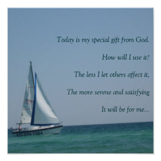 IMG_3862, Today is my special gift from God. Poster