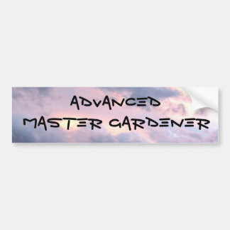 IMG_7406, ADVANCED, MASTER GARDENER BUMPER STICKER