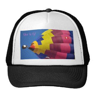 IMGP8168, I like you fly! Mesh Hats