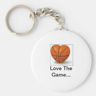 imgres, Love The Game... Basic Round Button Key Ring