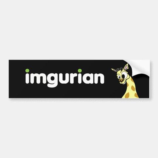 imgurian bumper sticker