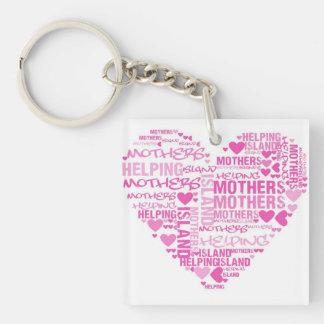IMHM Heart Keychain
