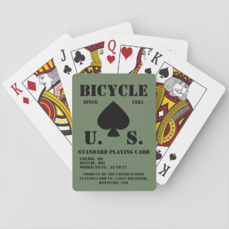 (Imitation) Bicycle Standardized OD Playing Cards