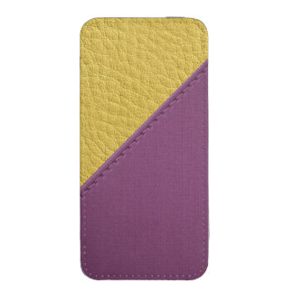 Imitation of mulberry yellow leather, seams,