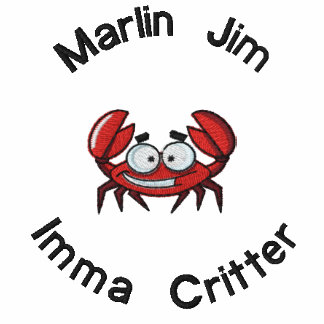 Imma Critter Embroidered T-Shirt