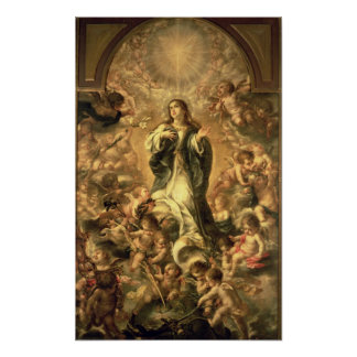 Immaculate Conception, 1670-1672 Poster