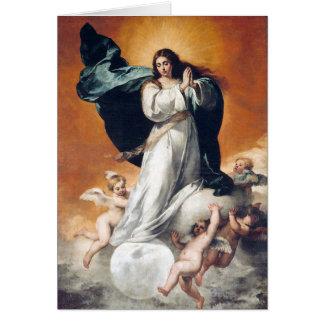Immaculate Conception card