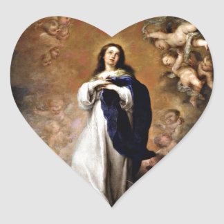 Immaculate Conception Heart Sticker