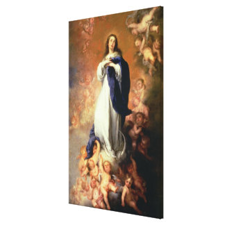 Immaculate Conception of the Escorial, c.1678 Canvas Print