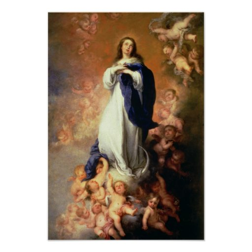 Immaculate Conception of the Escorial, c.1678 Poster
