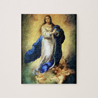 Immaculate Conception of Virgin Mary - Murillo Jigsaw Puzzle