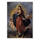 Immaculate Conception - Peter Paul Rubens Card