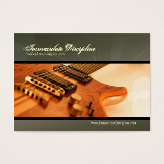 Immaculate Discipline Chubby Business Cards