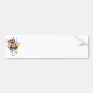 Immaculate Heart of Mary Bumper Sticker