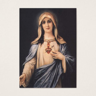 Immaculate Heart of Mary  Heart Business Card