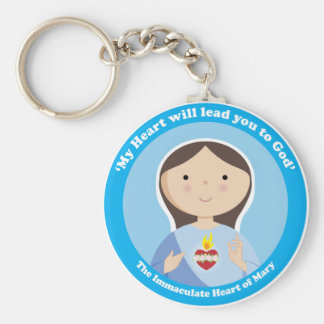 Immaculate Heart of Mary Key Ring