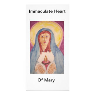 Immaculate Heart Of Mary Photo Greeting Card
