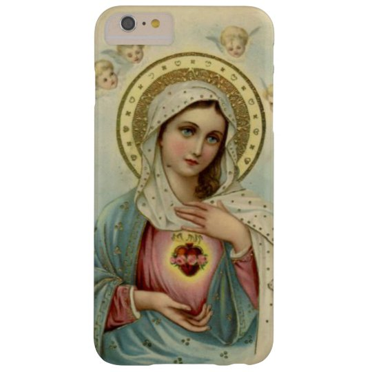 Immaculate Heart Virgin Mary Cherubs Barely There iPhone