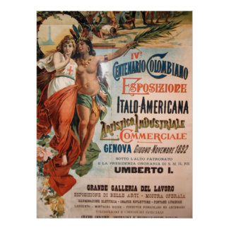 Immagine da Genova Italia 1892 Print