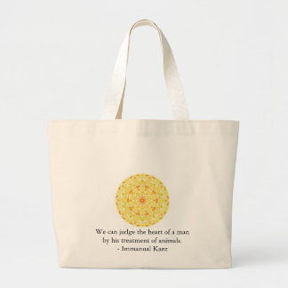 Immanual Kant Animal Rights  quote Tote Bag