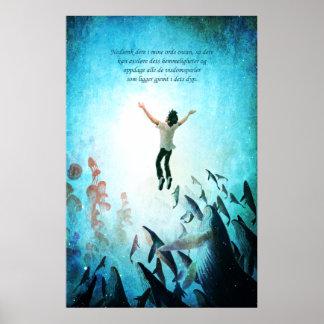 Immerse Ocean (Norwegian) Poster
